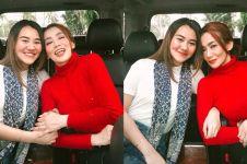 10 Potret kompak Reza Artamevia & Aaliyah Massaid, bak kakak adik