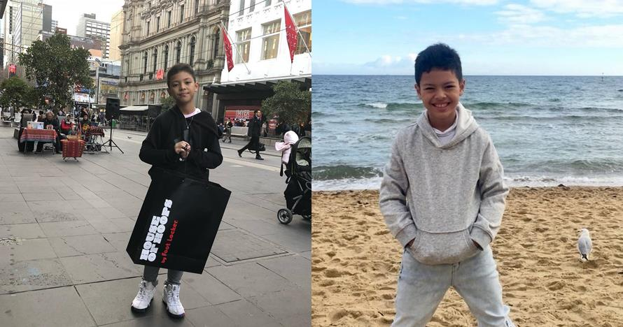 10 Potret terkini Keanu Massaid, si tampan anak Angelina Sondakh