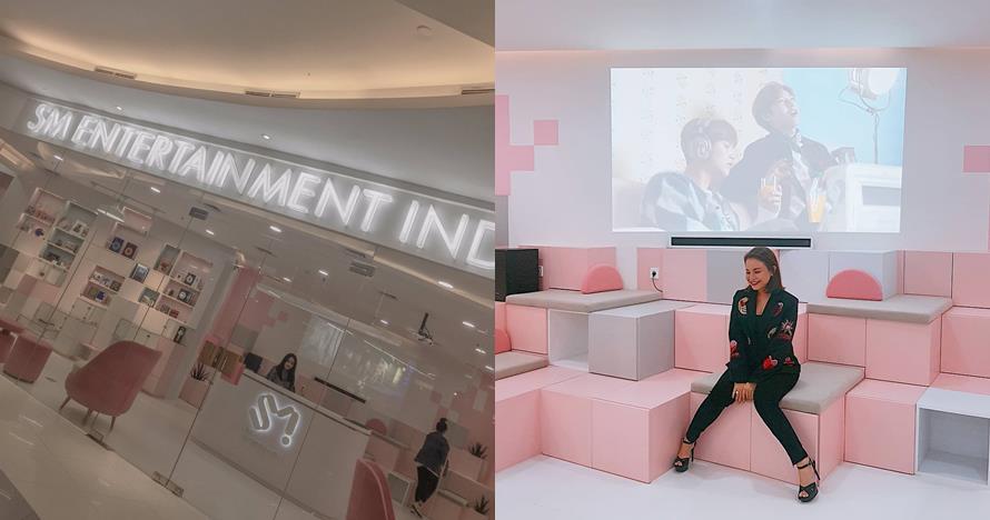 10 Penampakan kantor SM Entertainment yang ada di fX Sudirman f05722c5cb