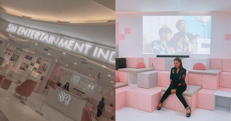10 Penampakan kantor SM Entertainment yang ada di fX Sudirman