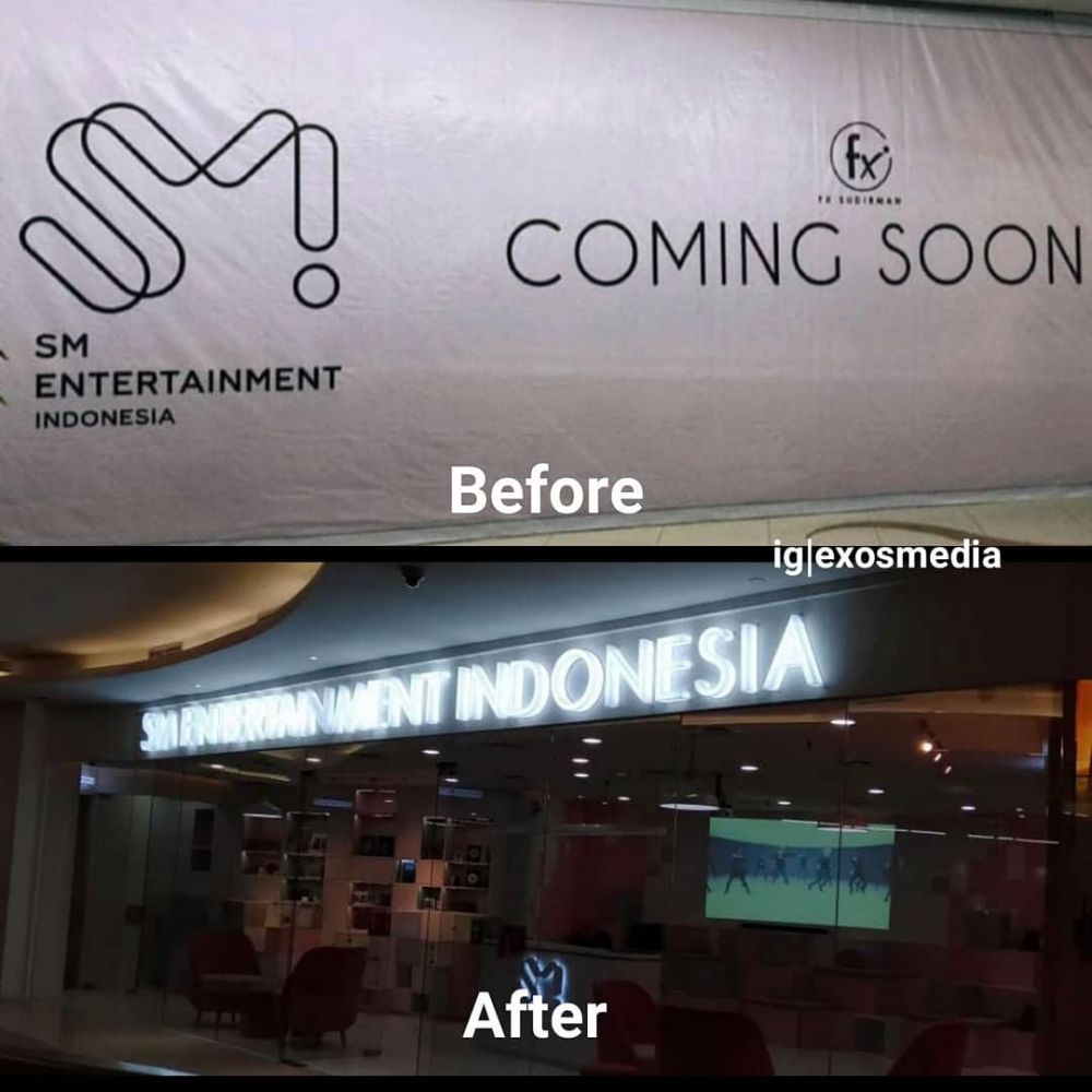 SM Entertainment fX twitter