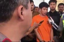 Adi Saputra, pria yang banting sepeda motor jadi tersangka