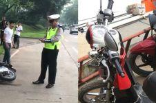 6 Fakta tentang kasus sepeda motor dirusak karena ditilang