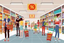 3 Trik pasar swalayan agar konsumen boros, begini cara mengatasinya