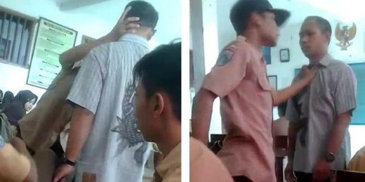 Viral, siswa SMP ini lawan guru karena ketahuan merokok di kelas