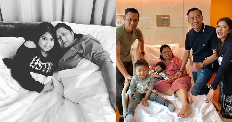 Ani Yudhoyono jatuh sakit, ini 6 potretnya didampingi keluarga