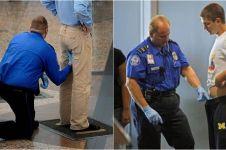 10 Momen awkward cek keamanan bandara, bikin mikir kemana-mana