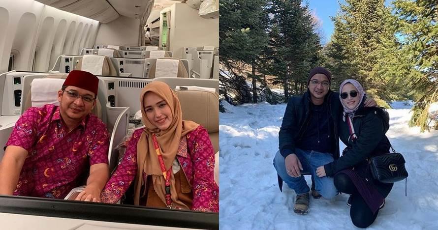 10 Momen Pasha Ungu liburan di Turki sama istri, sekalian umrah