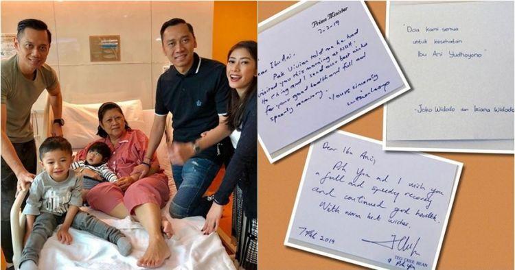 4 Potret kiriman bunga dan doa kesembuhan untuk Ani Yudhoyono