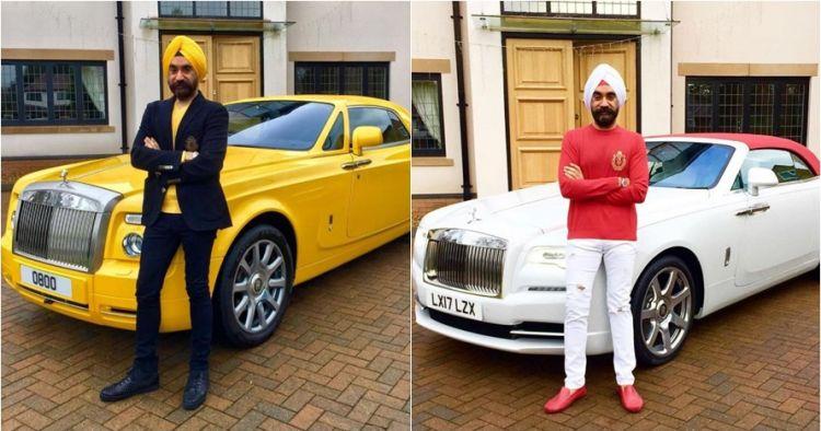 10 Gaya cowok selalu cocokkan turbannya dengan mobil, keren abis
