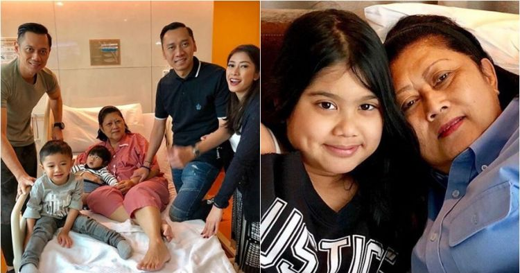 5 Momen cucu hibur Ani Yudhoyono yang sakit