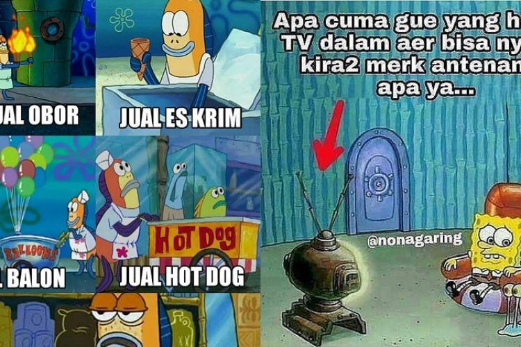 10 Meme Lucu Cuma Ada Di Spongebob Ini Bikin Nggak Habis Pikir