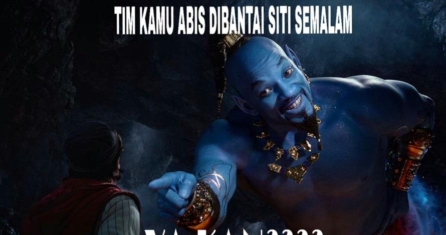 10 Meme lucu Will Smith saat jadi jin di film Aladdin