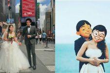 10 Editan foto karakter Upin Ipin menikah ini bikin auto baper