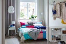 9 Ide desain kamar tidur mungil, ruang kecil jadi terasa mewah