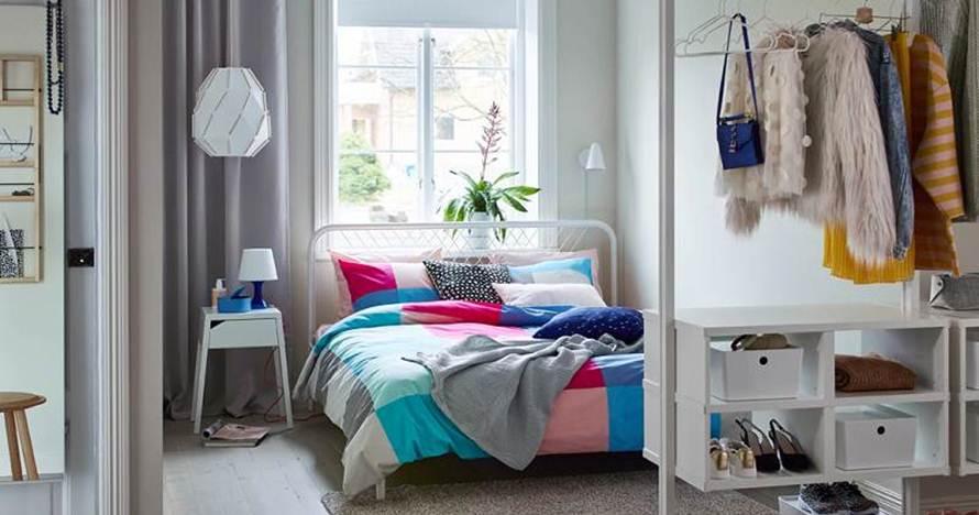 9 Ide Desain Kamar Tidur Mungil Ruang Kecil Jadi Terasa Mewah