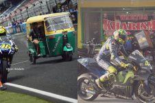 13 Foto editan lucu jika balapan MotoGP ada di Indonesia