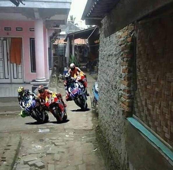 motogp di indonesia © 2019 brilio.net