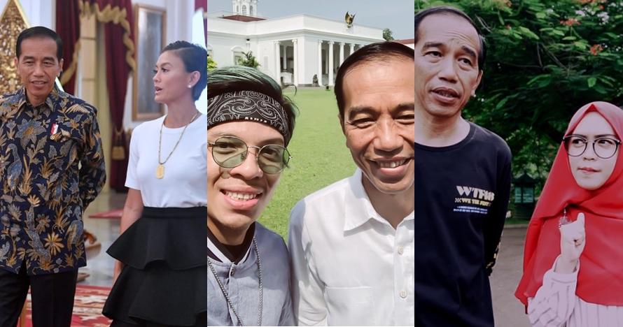 10 Seleb ini pernah ngevlog bareng Jokowi, beruntung banget