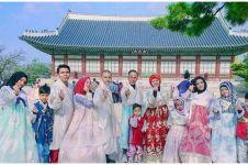 7 Potret kompak Gen Halilintar dalam pilih busana, berbaju Korea