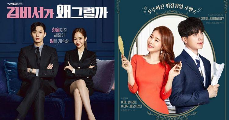 10 Drama Korea romantis berkisah bawahan jatuh cinta ke atasan