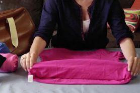 Cara melipat pakaian dengan cepat, rapi dan antikusut