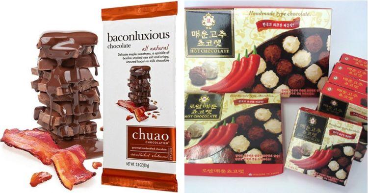 10 Cokelat dengan rasa nggak biasa, dari kecap hingga garam