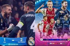 7 Meme lucu kemenangan Real Madrid atas Ajax ini nyindir banget