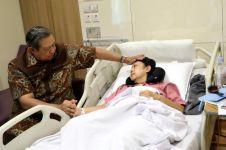Doa Jokowi dan Ma'ruf Amin untuk kesembuhan Ani Yudhoyono