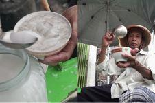 Dalam sehari, es dawet Rp 2.000 Pak Slamet laku ratusan porsi