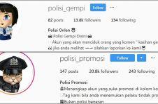 10 Polisi online fiktif ini suka mencyduk netizen berkomentar asal