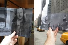20 Karya foto cocokkan cuplikan adegan & lokasi asli di film
