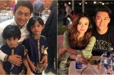 Potret kedekatan Ifan & putra Herman Seventeen, didoakan netizen
