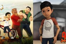 8 Tokoh ikonik film kartun Adit Sopo Jarwo yang paling terkenal