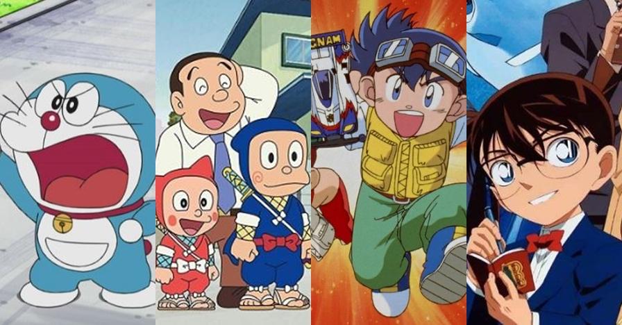 12 Film kartun Jepang tayang di Indonesia yang diangkat dari manga