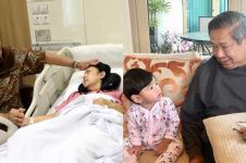 Momen SBY dan cucu jaga Ani Yudhoyono, penuh kehangatan