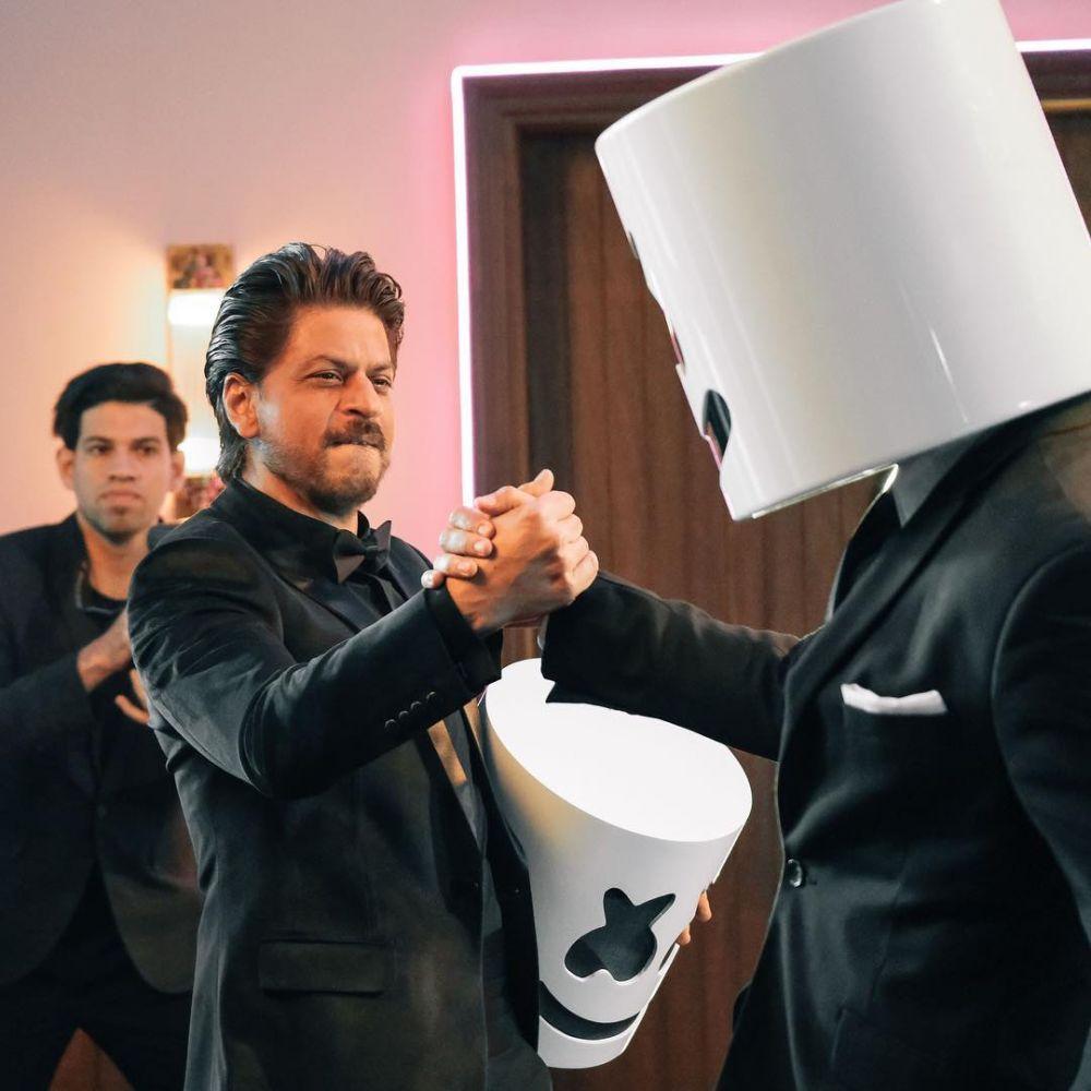 marshmello X SRK  © 2019 brilio.net