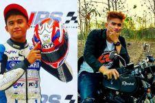10 Potret kenangan M Zaki, pembalap muda jadi korban penusukan
