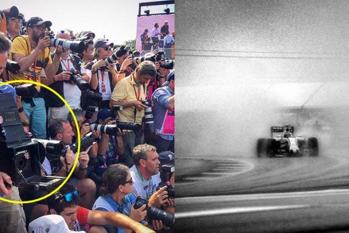 11 Foto Formula 1 hasil jepret kamera usia 106 tahun, bikin melongo