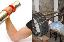 20 Alat fitnes murah meriah, bisa kamu tiru