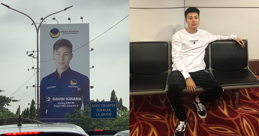 7 Potret Davin Kirana, caleg anak bos Lion Air mirip seleb Korea