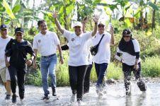 Serunya Menteri Rini, Anas, & Bos Bank BUMN lari di kebun cokelat