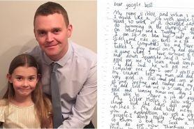 Bocah 7 tahun ini kirim surat lamaran kerja ke Google, dibalas CEO