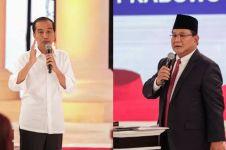 Ini adu serangan Jokowi dan Prabowo di debat capres kedua