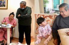 Ini ungkapan Bahagia Ani Yudhoyono video call sama cucunya