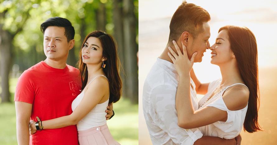 10 Momen romantis Sandra Olga & suami, diam-diam sudah menikah