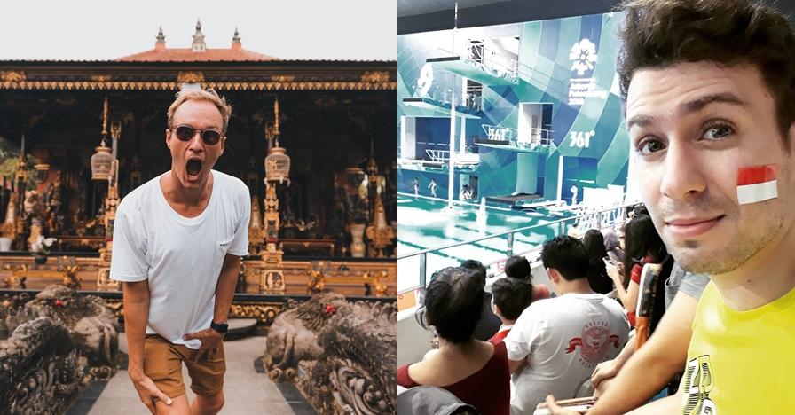 10 YouTuber bule yang suka ulas Indonesia, bangga abis