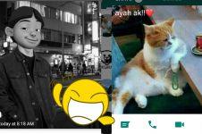 10 Foto profil WhatsApp bapak-bapak ini bikin susah nahan tawa