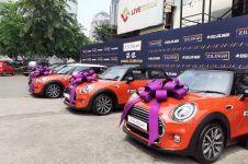 Pelanggan belanja online berkesempatan raih hadiah 5 Mini Cooper