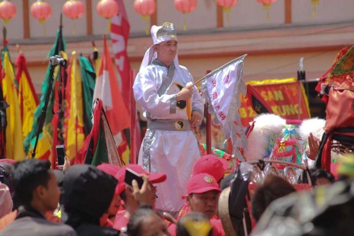 Kemeriahan Festival Cap Go Meh Singkawang, banyak aksi ekstrem